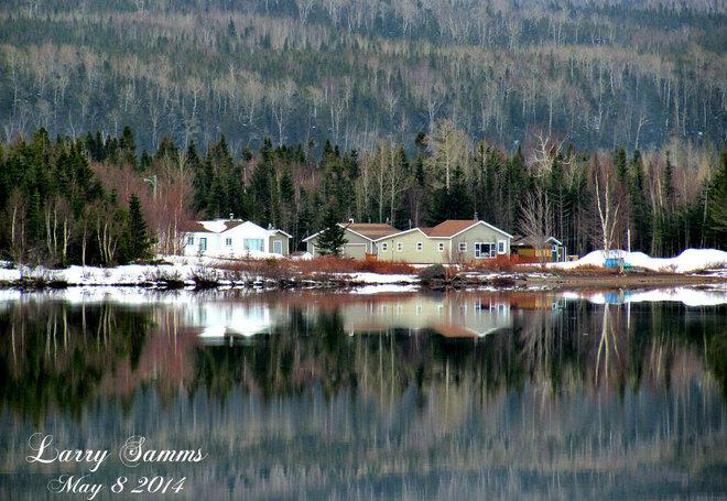 """""""Reflection"""" Springdale, Newfoundland and Labrador Canada"""
