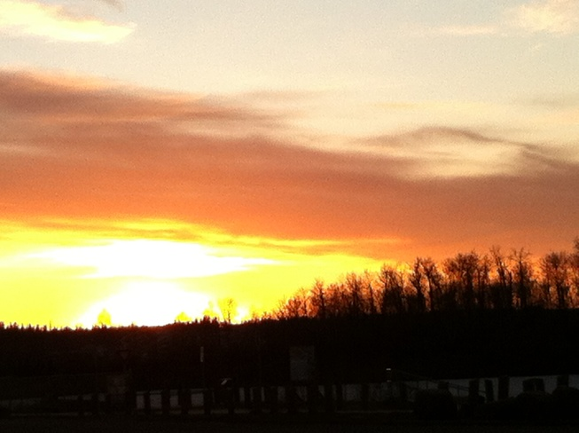 Sunset on McMurray Fort McMurray, Alberta Canada
