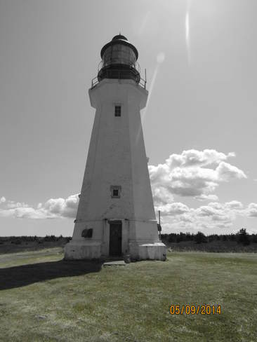 Lighthouse 2014 New Waterford, Nova Scotia Canada