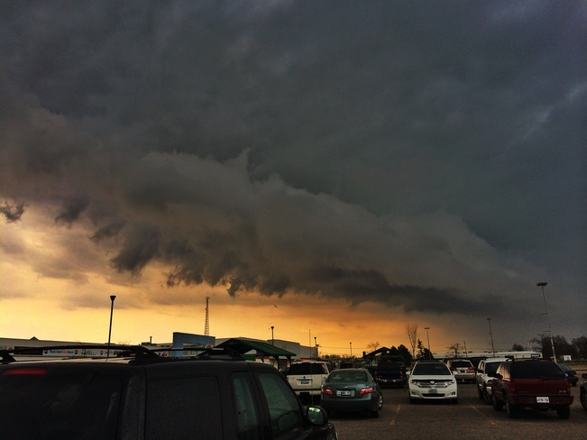 Storm Clouds Goderich, Ontario Canada