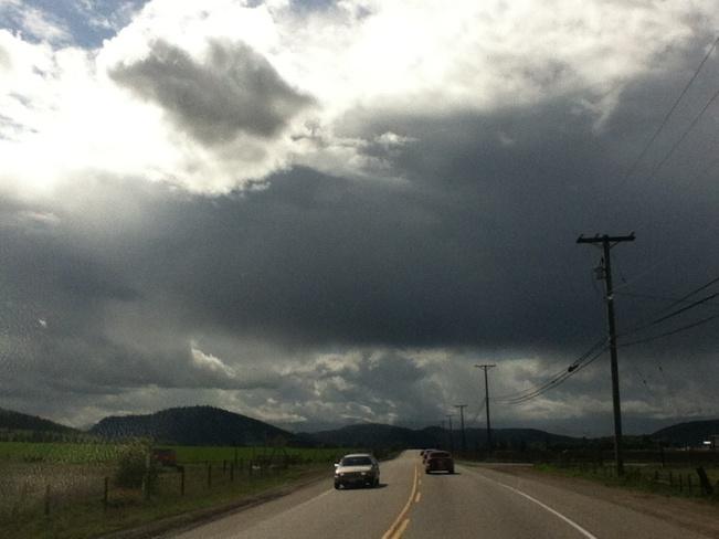 forecast calling 4 rain South Vernon, British Columbia Canada