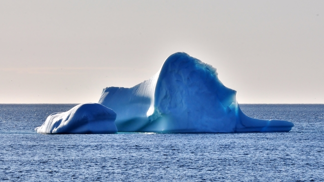 Witless Bay Iceberg. Witless Bay, Newfoundland and Labrador Canada