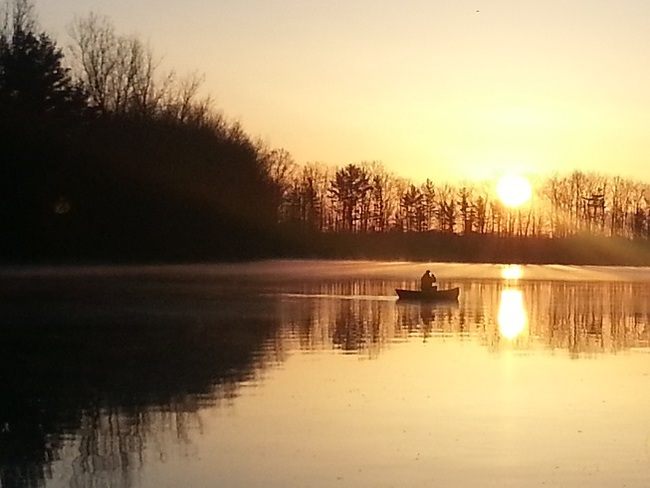 BEAUTIFUL MORNING TO CANOE Exeter, Ontario Canada
