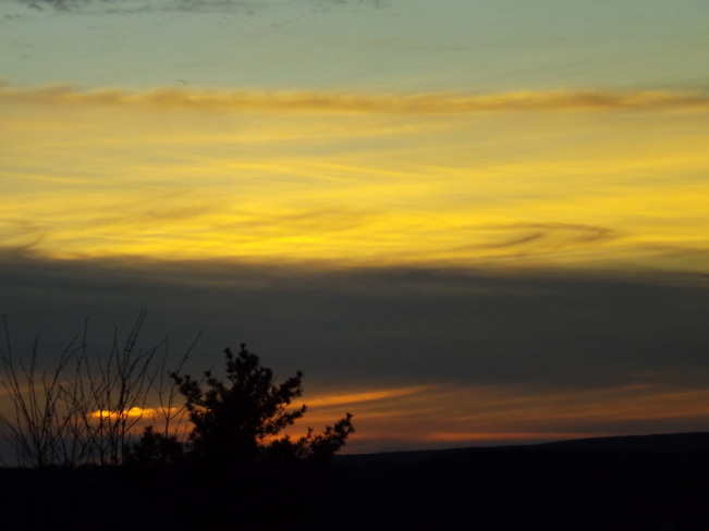 sunset tuesday New Minas, Nova Scotia Canada