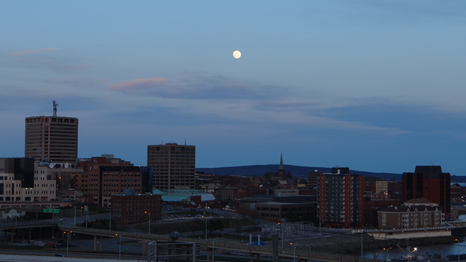 skyline Saint John, New Brunswick Canada
