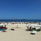 Beautiful Ipanema Beach, Rio