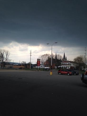 and the thunder rolls Penetanguishene, Ontario Canada