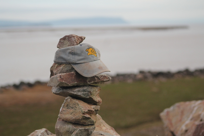 Wolfville says Hats Off to Blomidon Old Dyke Lane, Wolfville, NS, Canada