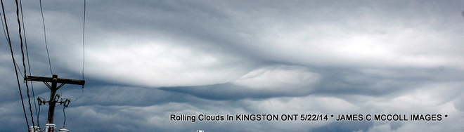 BLACK AND WHITE RARE ROLLING CLOUDS 300 Bath Road, Kingston, ON K7M 4Y2, Canada
