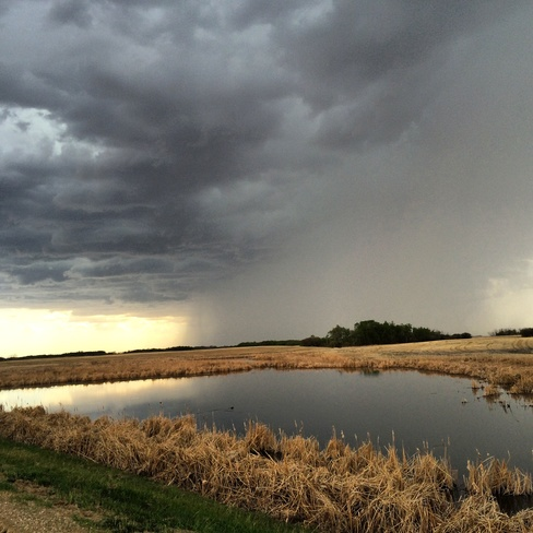 Rain Shaft Stoughton, Saskatchewan Canada