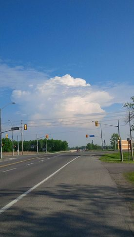 It Looks Like a Super Cell Welland, Ontario, Canada
