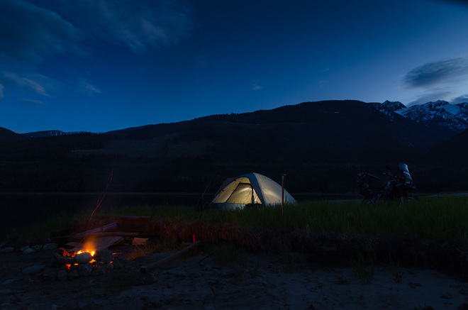 12 mile camping Revelstoke, BC