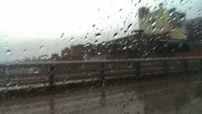 A rainy drive in Pittsburgh, PA, United States