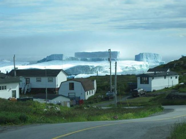 iceberg near st anthoy nfld st johns new