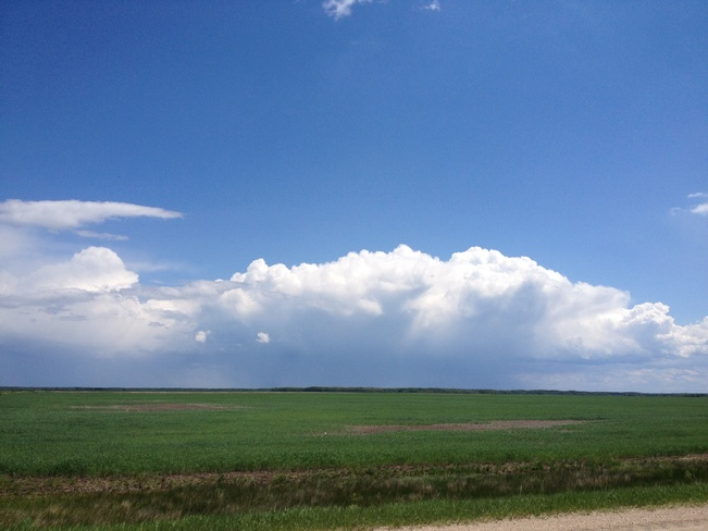 possible storm on the way Ste. Rose, Manitoba Canada