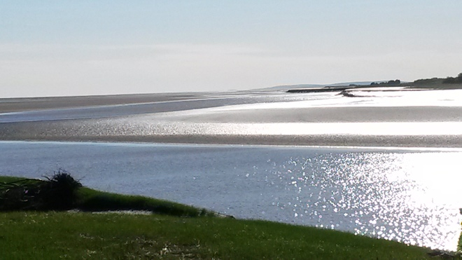 Low tide on Cobequid Bay Old Barns, NS