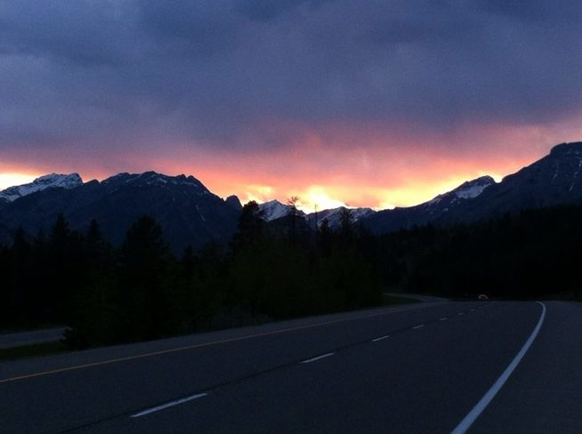 Fire In The Sky Banff