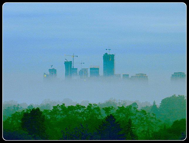 Foggy Start to Thursday Toronto, ON