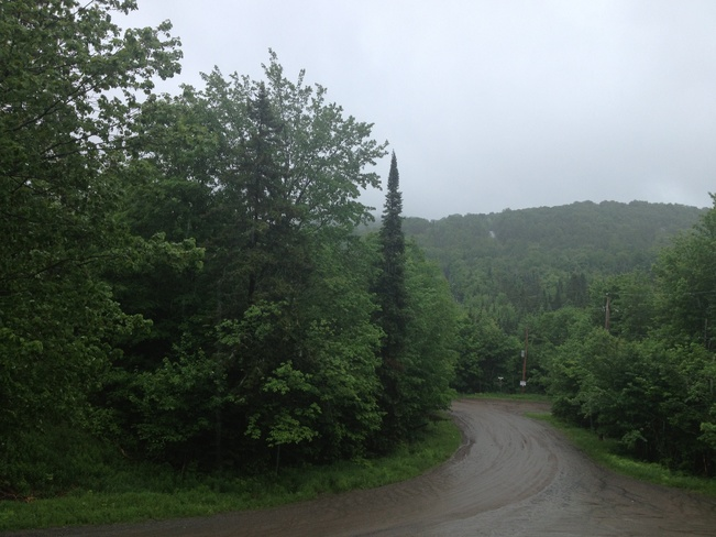 Current Weather - June 13, 2013 Sainte-Agathe-des-Monts, Quebec Canada