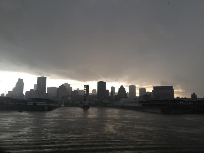 Gloomy day Montréal, Quebec Canada