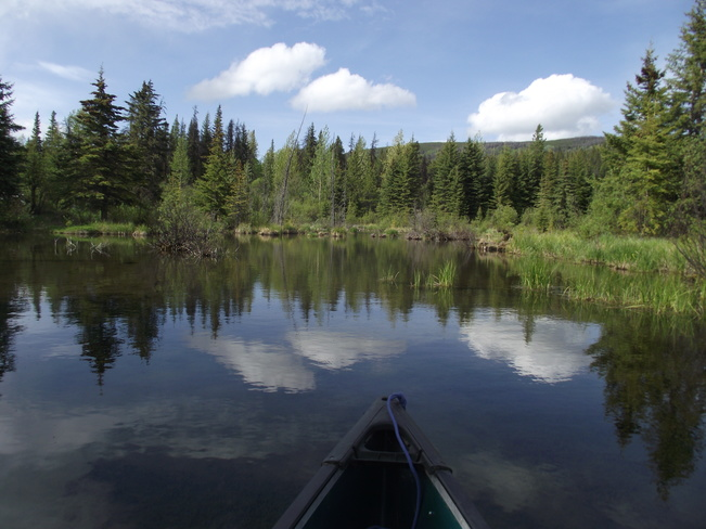 Canoe Trip British Columbia, Tumbler Ridge, BC, Canada