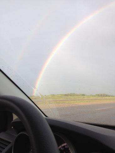 rainbow North Battleford, Saskatchewan Canada