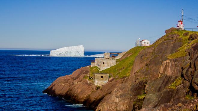 Fort Amherst Iceberg St. John's, NL