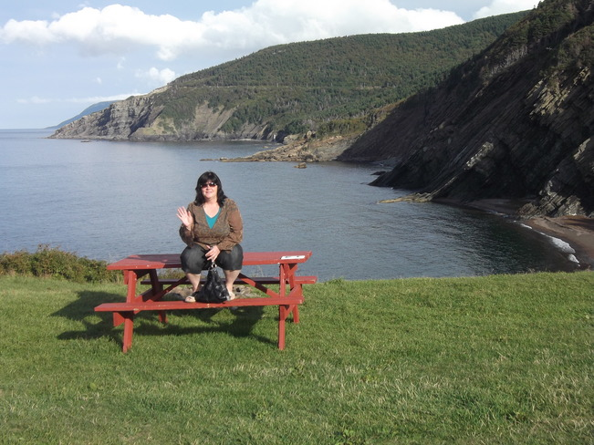 family trip cape breton 's cabot trail meatcove