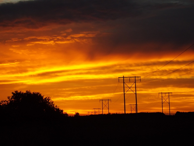 sunrise tuesday Canaan, NS