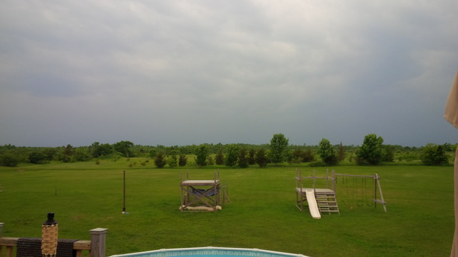 storm Clouds starting to roll in, in the Prince Edward County Area Milford, Ontario