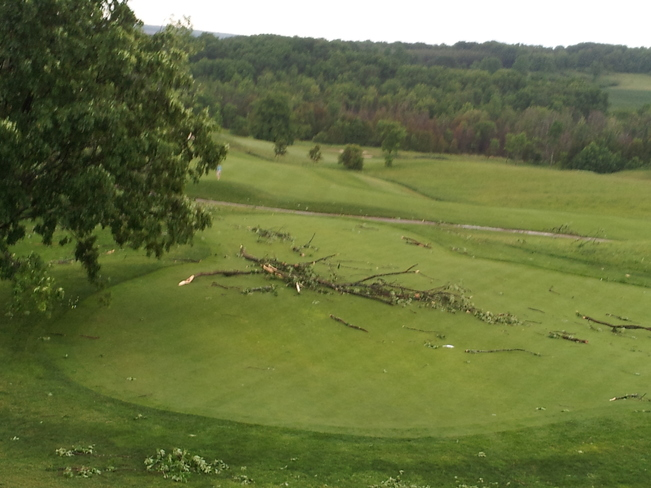 angus storm Tangle Creek Golf & Country Club, Side Road 25, Thornton, ON
