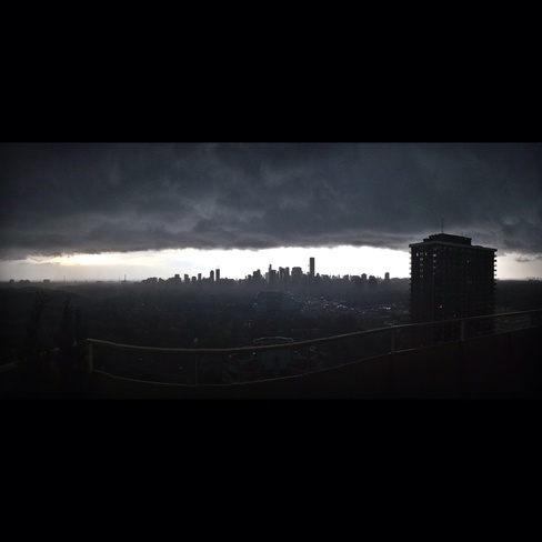 stormy TO Yonge-St.Clair, Ontario Canada