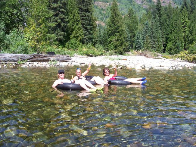 Hanging with the girls Salmo, BC