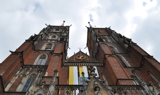 Catholic Churches in Wroclaw .. Wroclaw, Poland