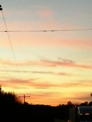 blue sky Blind River, ON