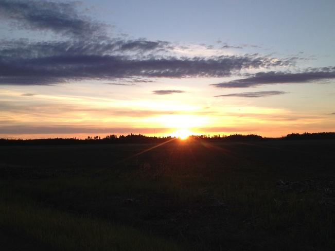 I miss my Sunsets McLennan, Alberta Canada