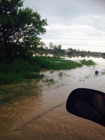 flood 2014 Blood 148, Alberta Canada