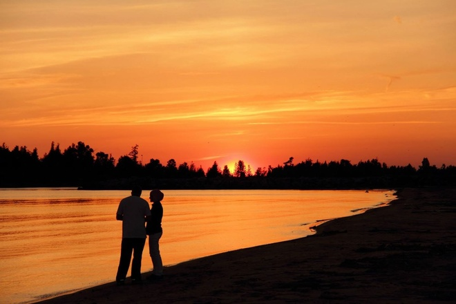 Romance at Sauble Beach Sauble Beach North, Ontario Canada