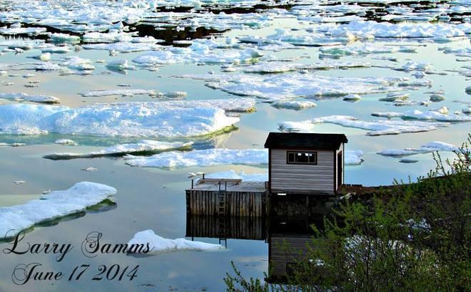 """Drift Ice In Port Anson"" Port Anson, NL"