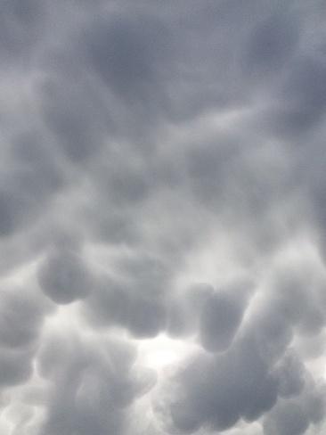 crazy clouds St. Malo, Manitoba Canada