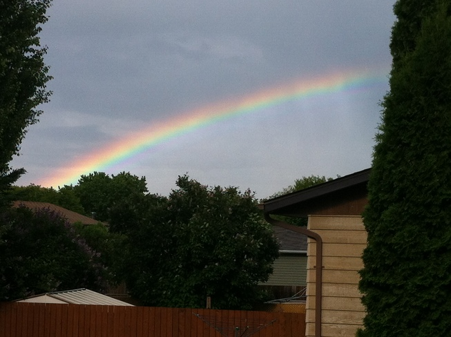Rainbow after Showers Brandon, MB