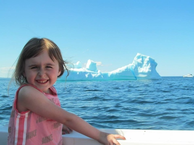 Lovely Day Iceberg Watching New Harbour, Newfoundland and Labrador Canada
