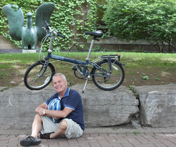 out for a bike ride Toronto, ON