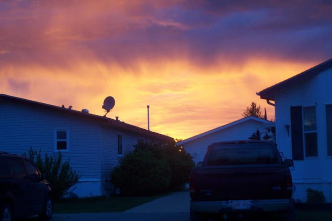 Sunset Edmonton, AB West