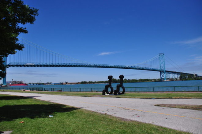 The Ambassador Bridge Windsor, ON