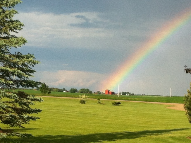 thats the pot-o-gold? Vegreville, Alberta Canada
