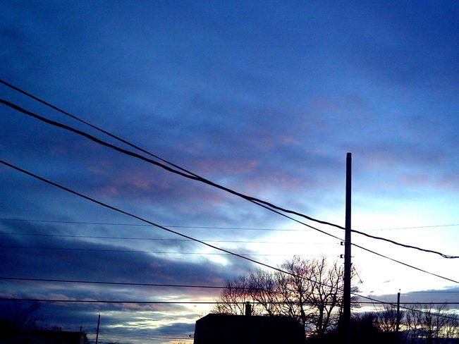 Warm Sunset New Waterford, Nova Scotia Canada
