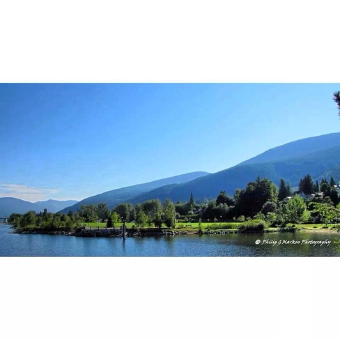 Soccer Pitch Nelson, British Columbia Canada