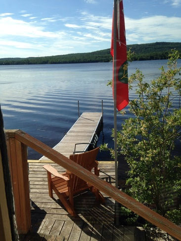 another day in paradise at loon Loon, Ontario Canada