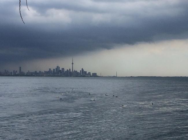 storms coming! Mimico, Ontario Canada